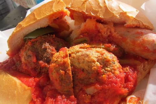 Eastside Market: Meatball & Sausage Sub