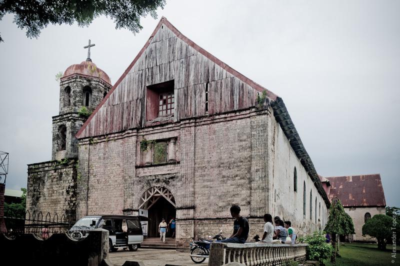 St. Isidor Labradore Parish Convent and Church, Lazi