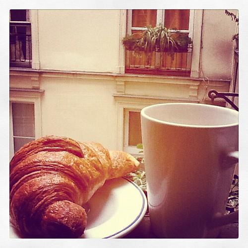 Cafe et Croissant