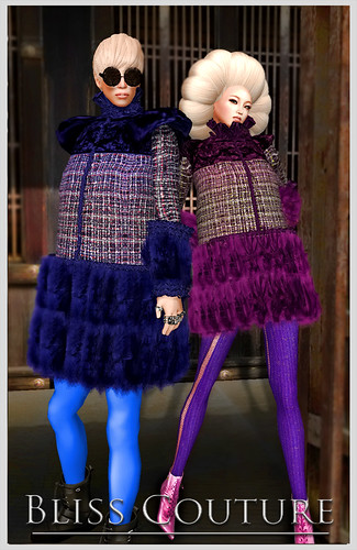 Bliss Fur - Zufreur and Yotov Coats Ad