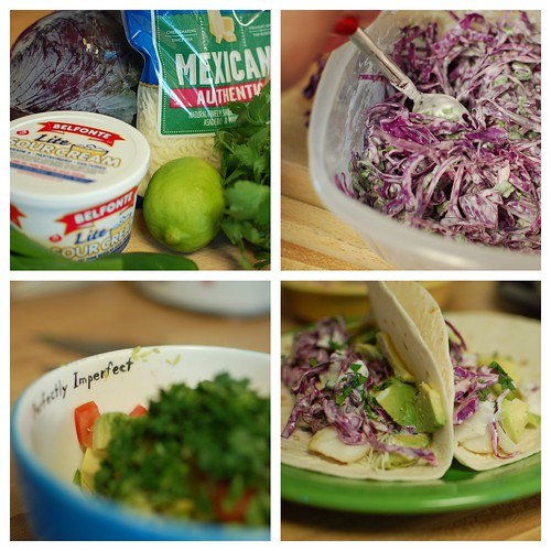 Fish Tacos with Tangy Slaw