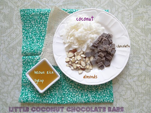 little coconut chocolate bars