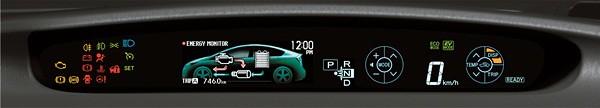 20 Prius Interior