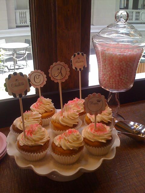 Pink Princess Cup Cakes
