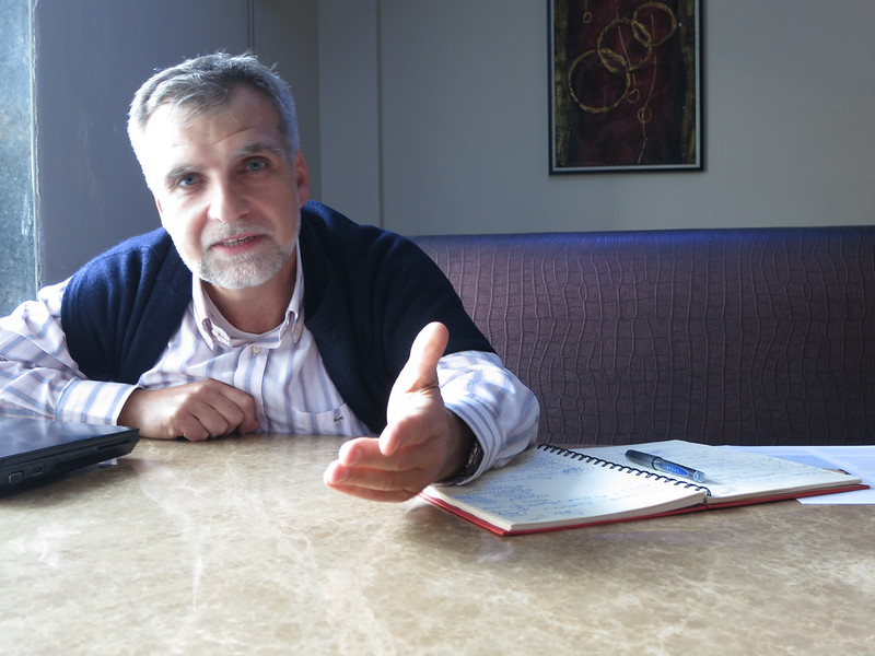 Paolo Pier-Ficarelli in Delhi