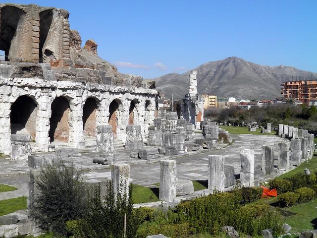 The Roman Amphitheatre, Capua