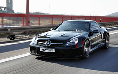 Prior Design Black Edition Widebody Conversion Aero Kit for Mercedes Benz SL Series R230