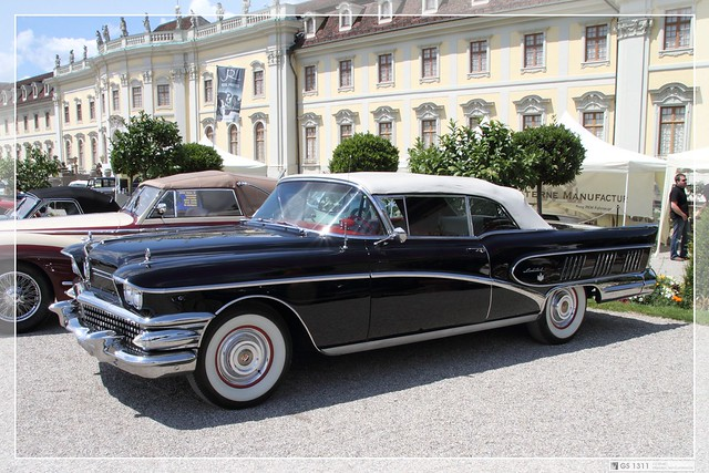 Photo:1958 Buick Limited Series 700 Convertible (01) By Georg Sander