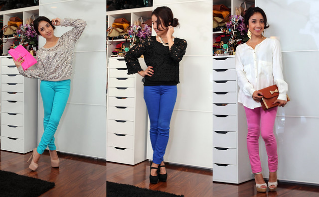 Dulce Candy bright jeans