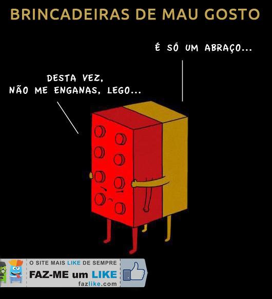 Lego - Brincadeiras de mau gosto