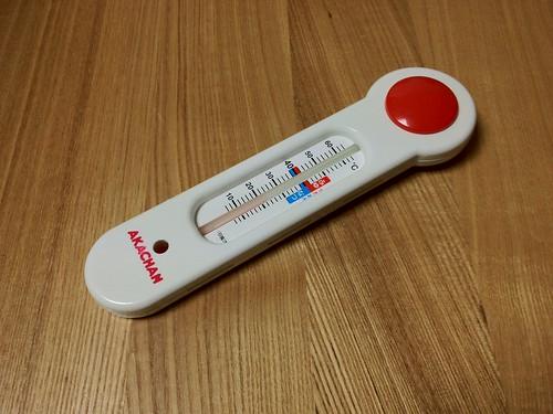 お風呂温度計