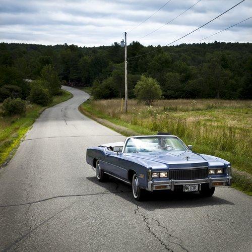 Cig Harvey, Frances in the Blue Cadillac, Hope, Maine, 2010