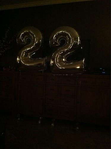 Diverse Verjaardag 22 Jaar