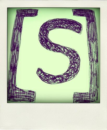 teken een symbool.