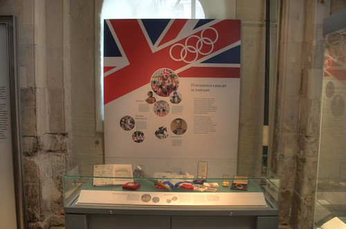 An Olympic display