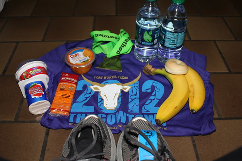 Race Finisher Shirt and Food
