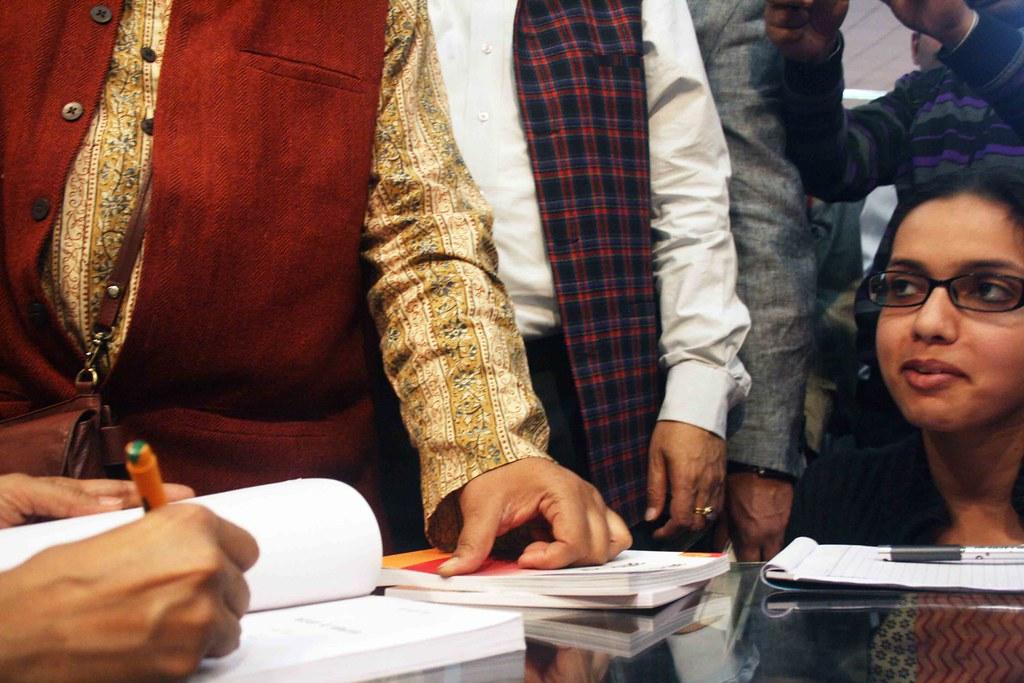 City Sighting – Arundhati Roy, Pragiti Maidan