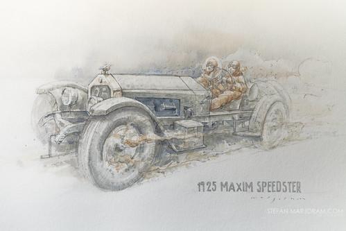 1925 Maxim Speedster by Stefan Marjoram
