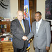 Secretary General Meets with Foreign Affairs Minister of Saint Lucia