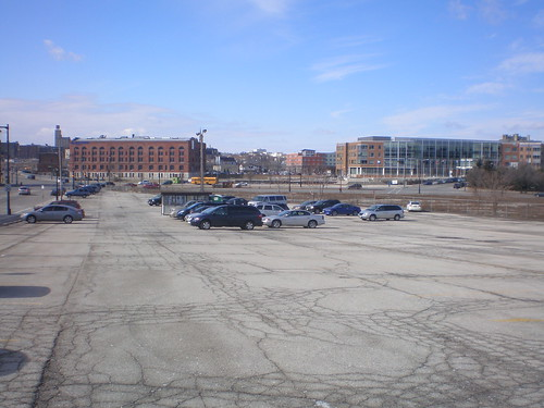Part of MSOE's parking garage will be built here.
