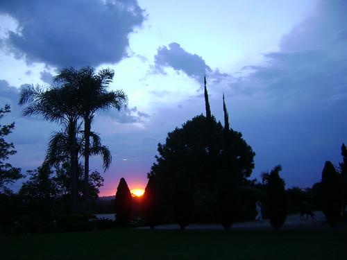 sunset sol azul céu riograndedosul sul