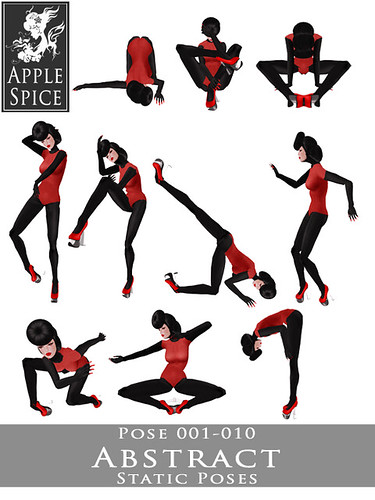 Apple Spice - Abstract Static Poses 001-010