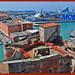 Livorno, Porto Mediceo, vista dalla Fortezza