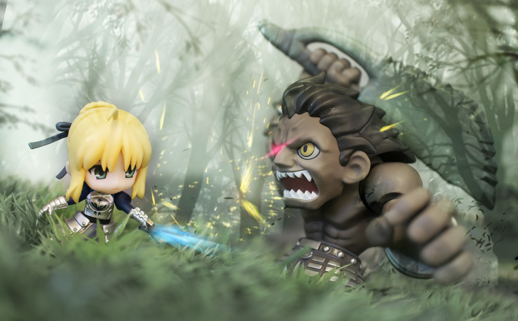 nendoroid petit fate/stay night