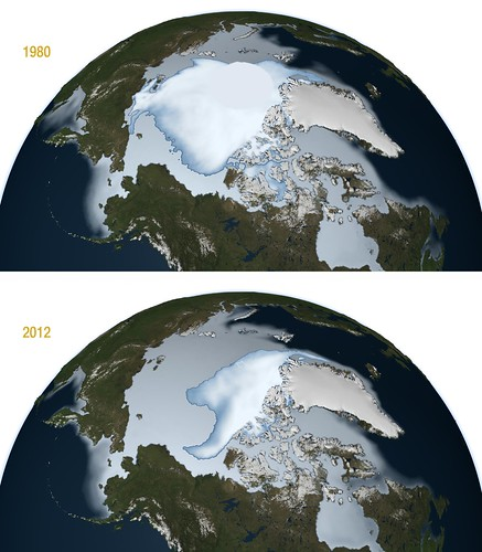 NASA Finds Thickest Parts of Arctic Ice Cap Melting Faster