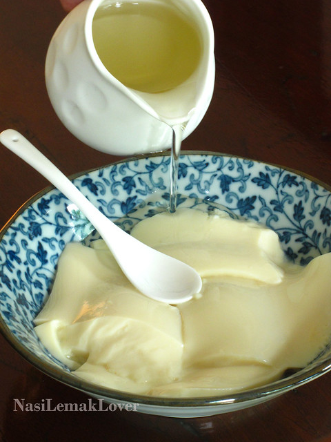 Homemade Tofufah 简易豆腐花