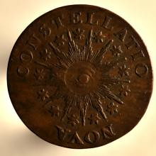 Nova Constellatio copper 1785 reverse