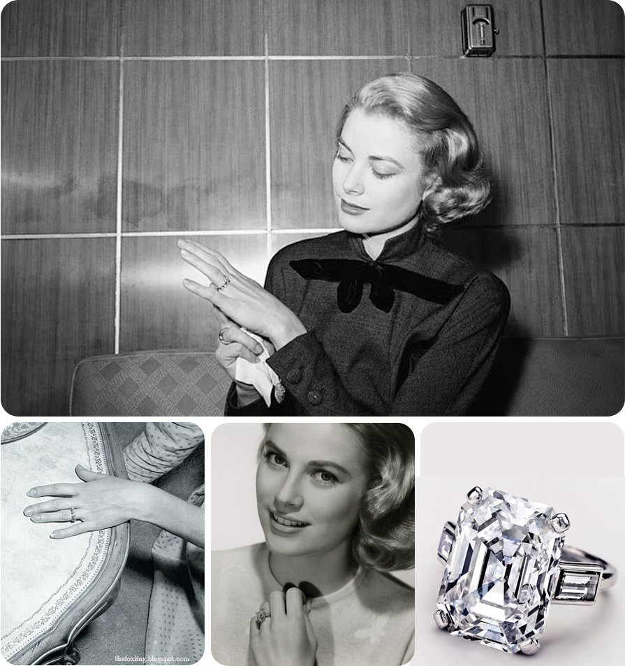 Grace Kelly's Engagement Rings