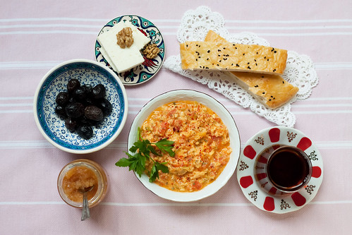 Classic Menemen Recipe by Olga Irez of Delicious Istanbul