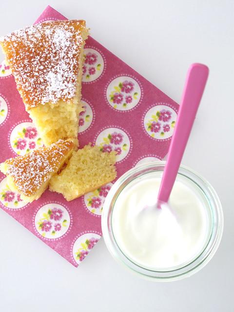 Torta di yogurt e mele 2