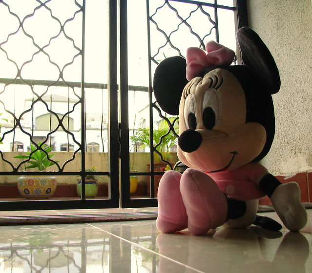 Minnie on the Floor