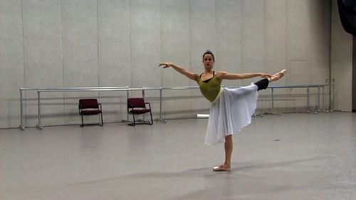 Alessandra Rehearsing