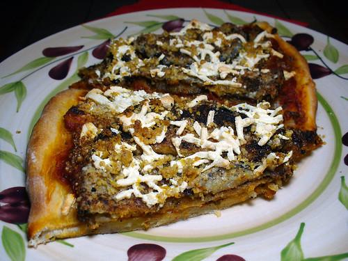 2012-03-04 - VJF Eggplant Parm Pizza - 0013