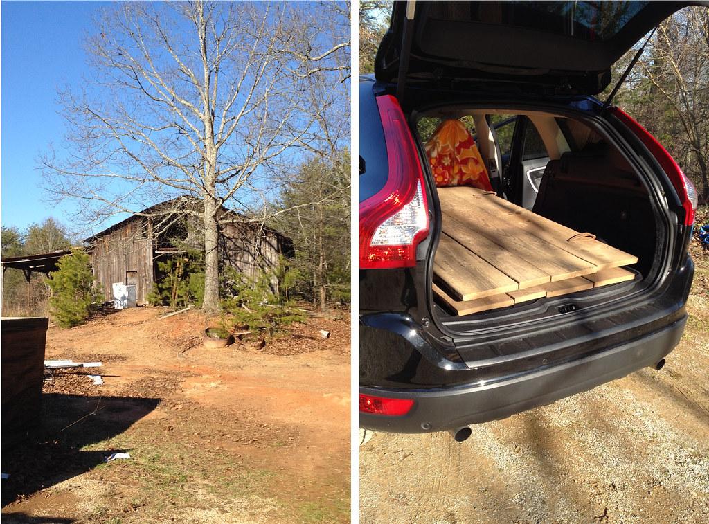 building my barn door headboard