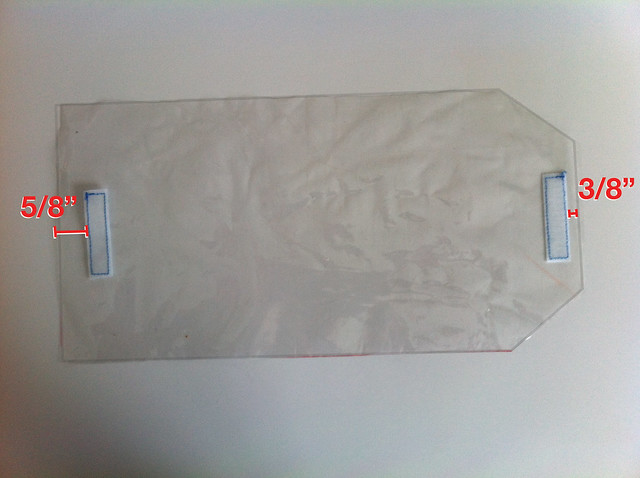 Velcro dimensions