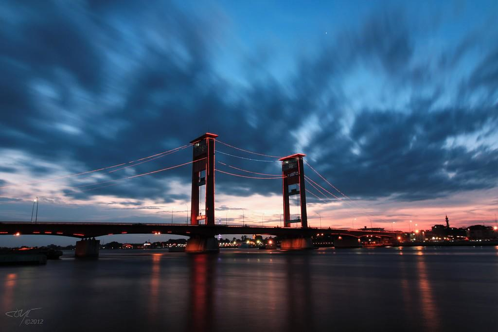 The Ampera Bridge