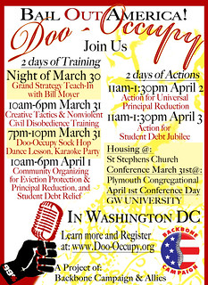 Doo-Occupy DC Trainings/Actions