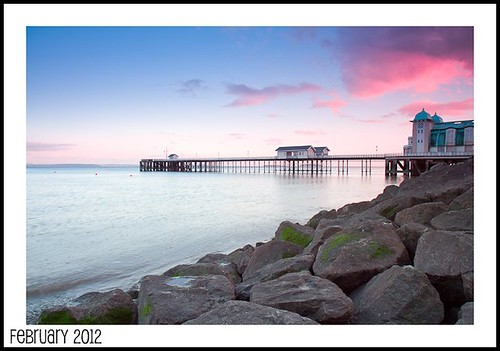 Penarth Pier Sunset
