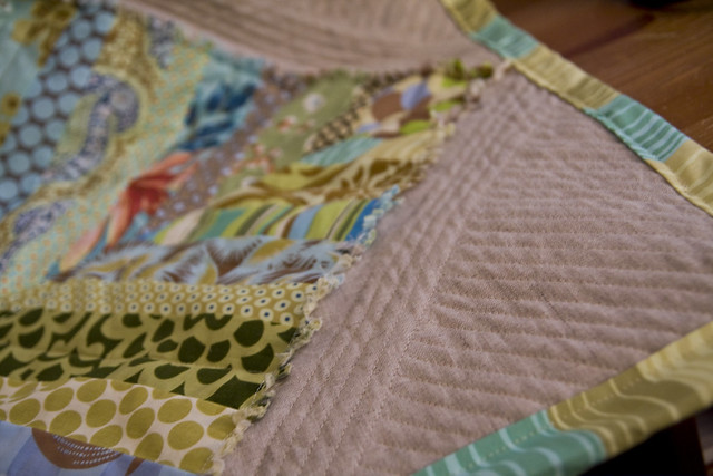 PTS7 Front Quilting Detail