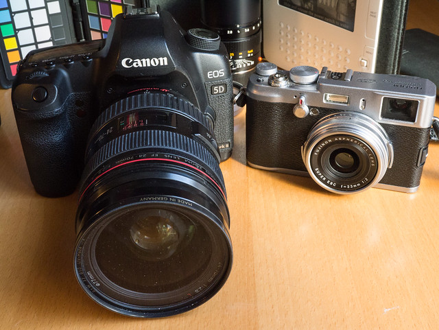 6980599173 40670a53ab z Probando la Fujifilm X100