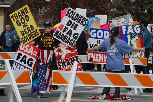 Westboro Baptist Church at Glen Burnie High School
