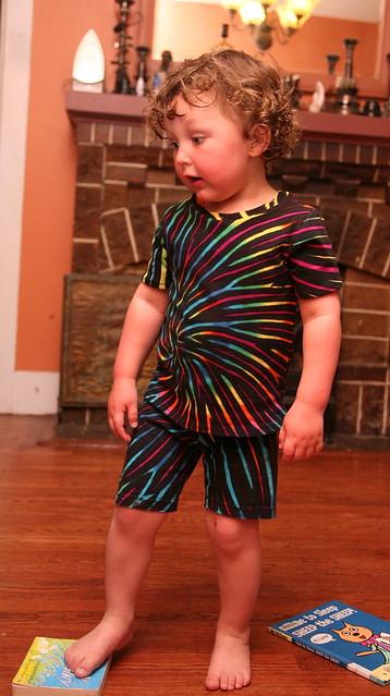Rainbow PJs!