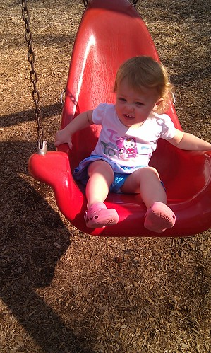 Swinging at the park by sweet mondays