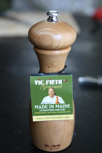 Mario Batali Vic Firth Salt Mill