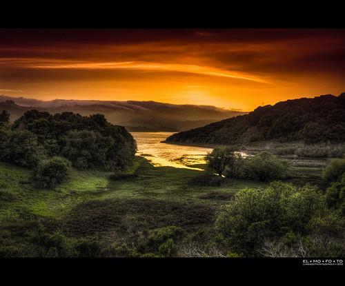 sanfrancisco california sunset orange lake green fog clouds landscape coast nikon fav50 dramatic peaceful fav20 blanket bayarea fav30 hdr highdynamicrange pf gettyimages fav10 fav100 tonemapping fav40 5000v fav60 fav90 fav80 fav70 flickraward 1424mm flickraward5 flickrawardgallery elmofoto lorenzomontezemolo sanandeasfault