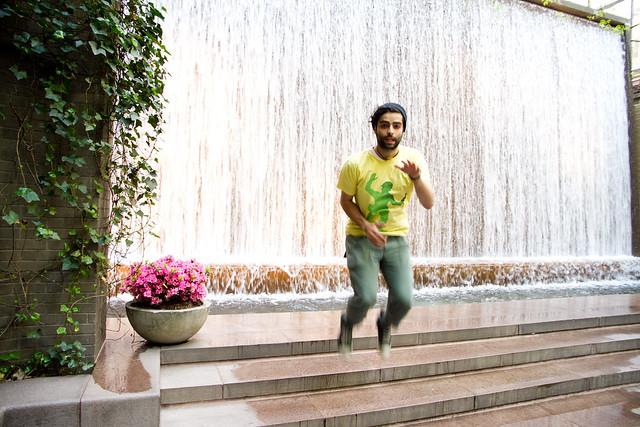 waterfall dance